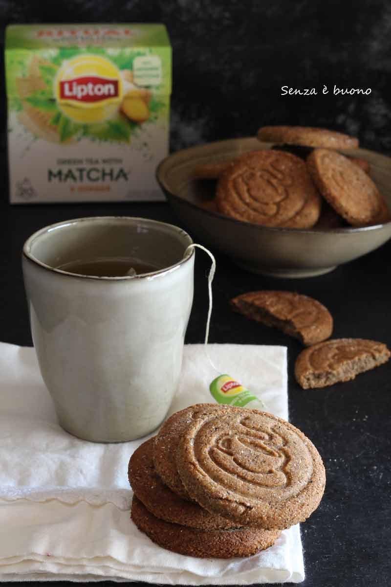 Ricetta biscotti al tè vegan senza glutine