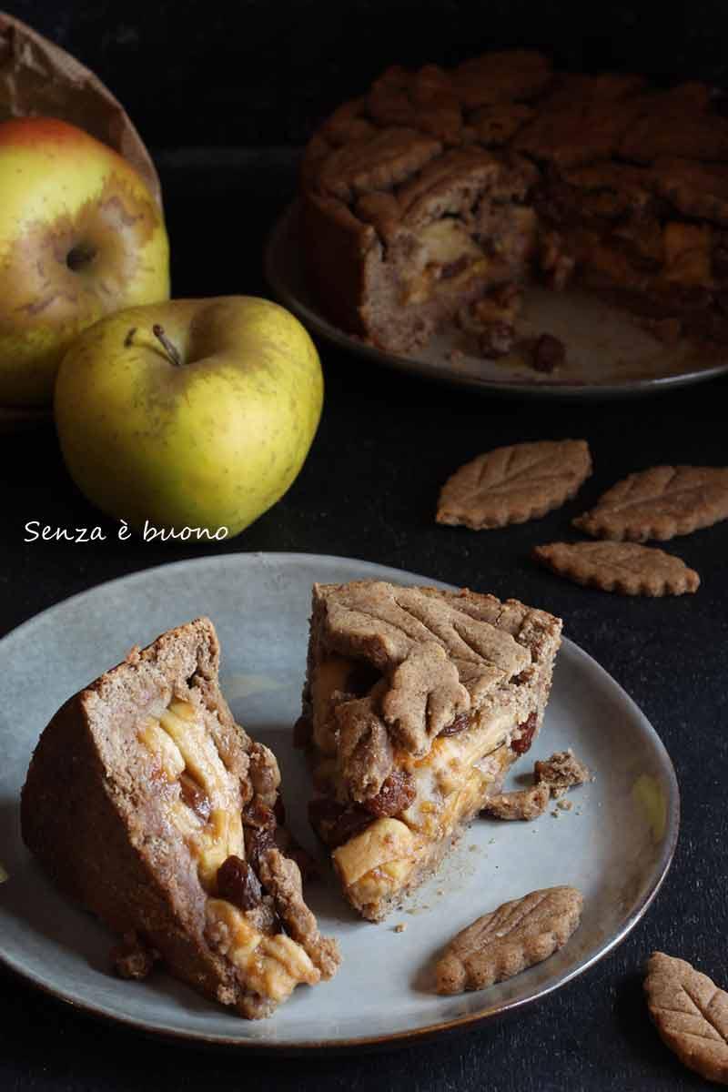 Una ricetta senza glutine senza burro a base di mele e cannella