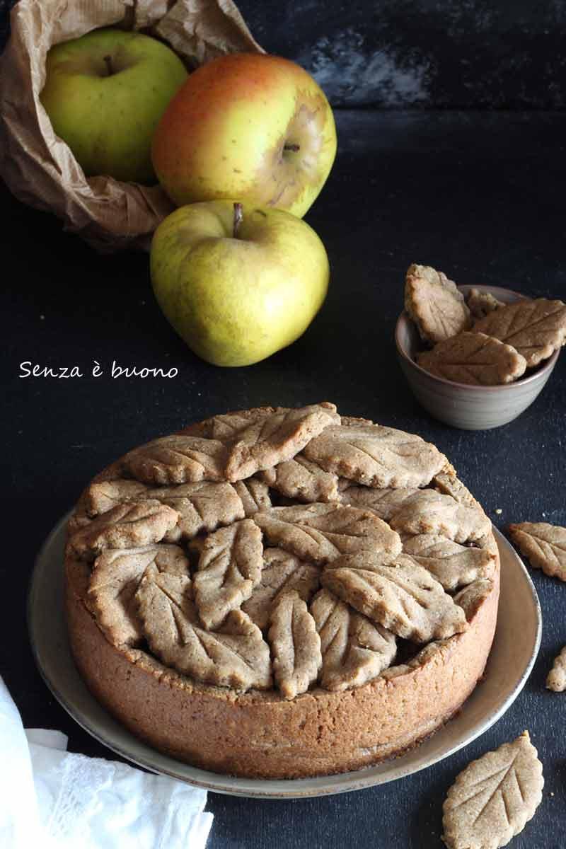 Crostata mele e cannella senza glutine vegan