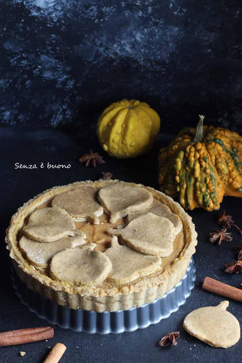 Ricetta della pumpkin pie vegan senza glutine