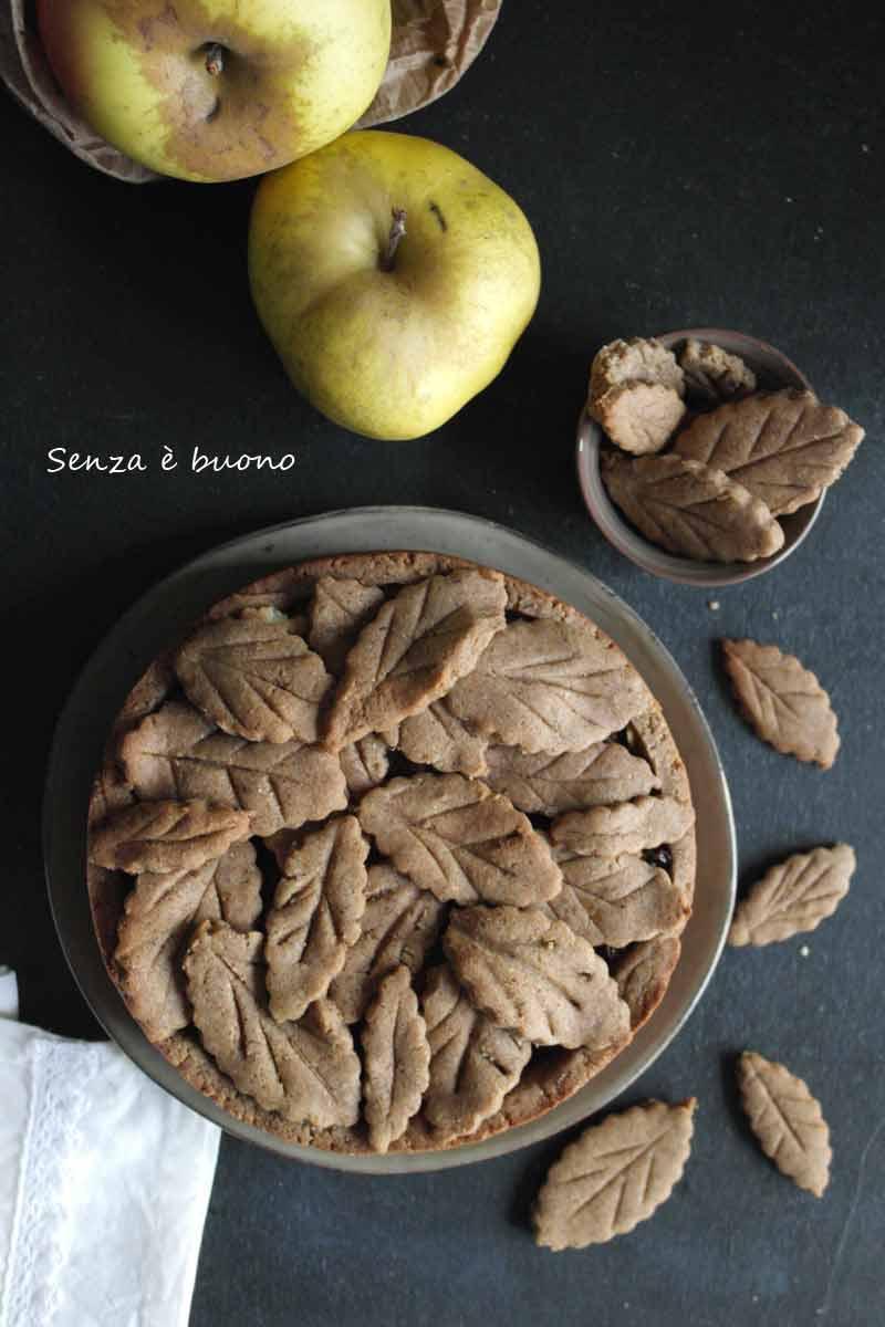 Crostata con frolla senza glutine vegan
