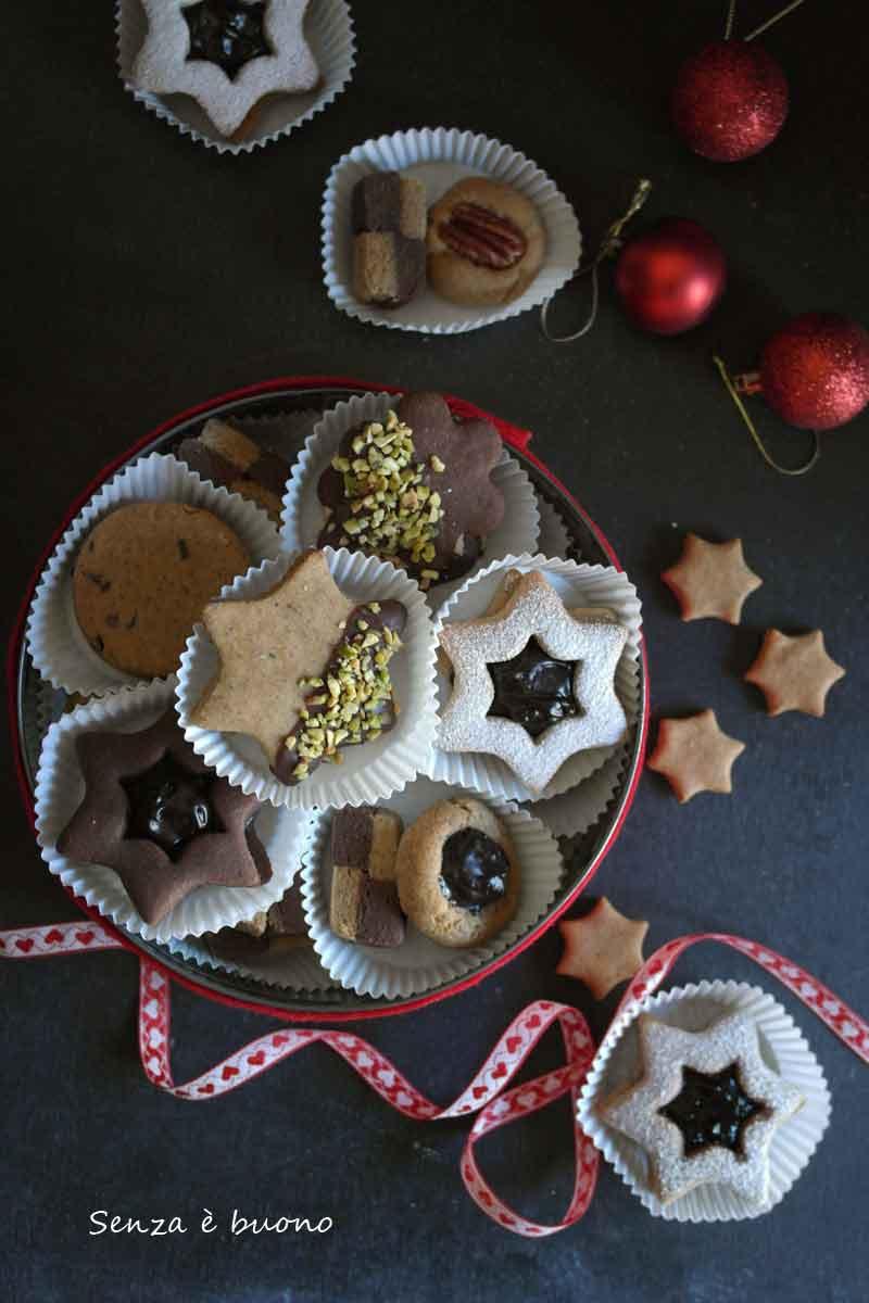 Biscotti integrali senza glutine per Natale