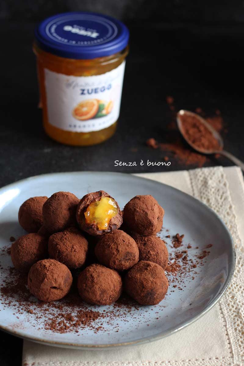 Tartufini al cioccolato ricetta per celiaci e vegani