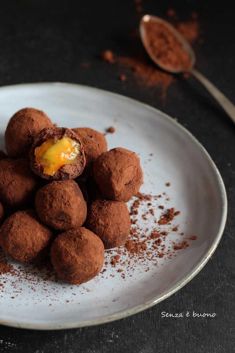 ricetta tartufini al cioccolato ripieni