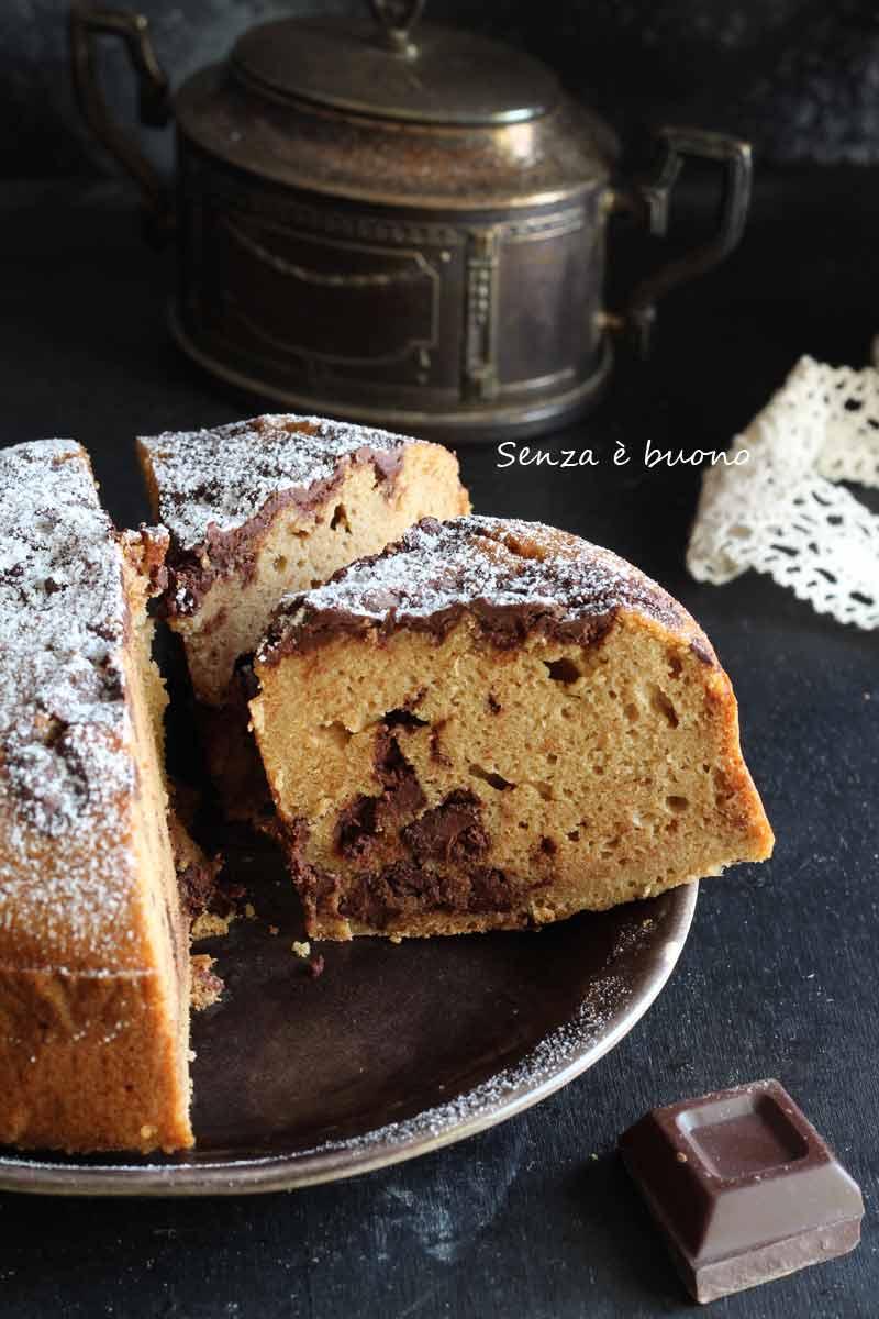 Ricetta torta stracciatella con cioccolato e latte di cocco