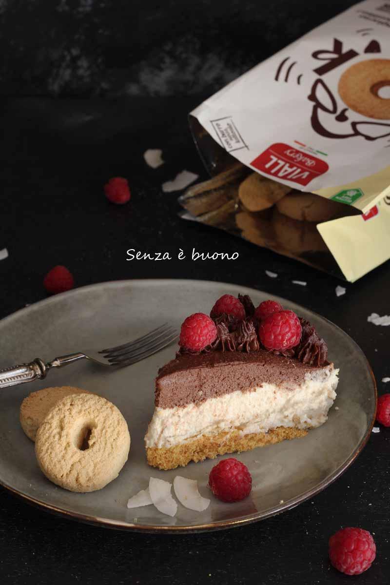 cheesecake senza glutine senza lattosio