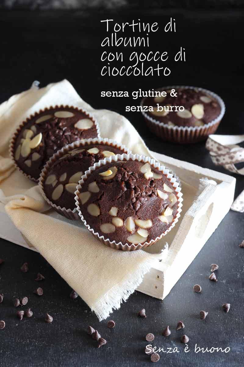 Tortine Di Albumi Al Cacao Senza Glutine