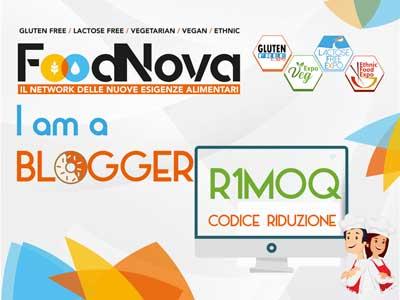 Foodnova fiera Rimini- codice sconto ingresso 2019