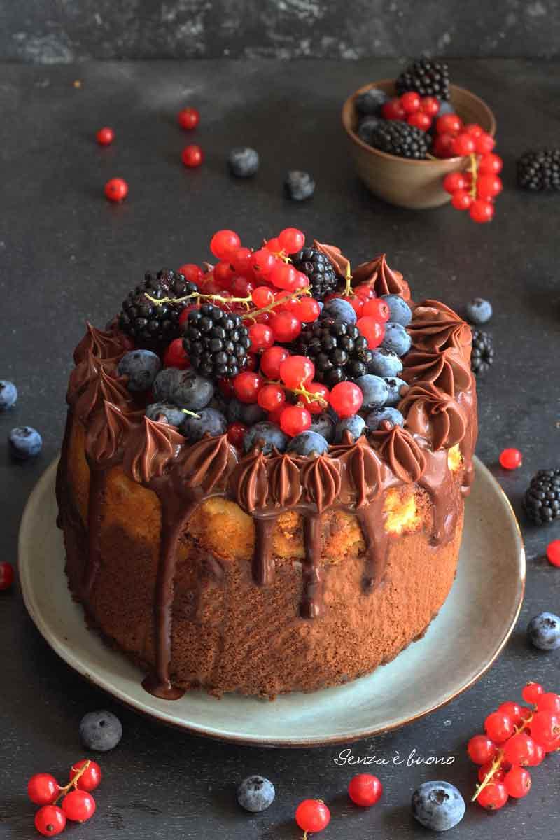 ricetta torta cacao yogurt senza glutine