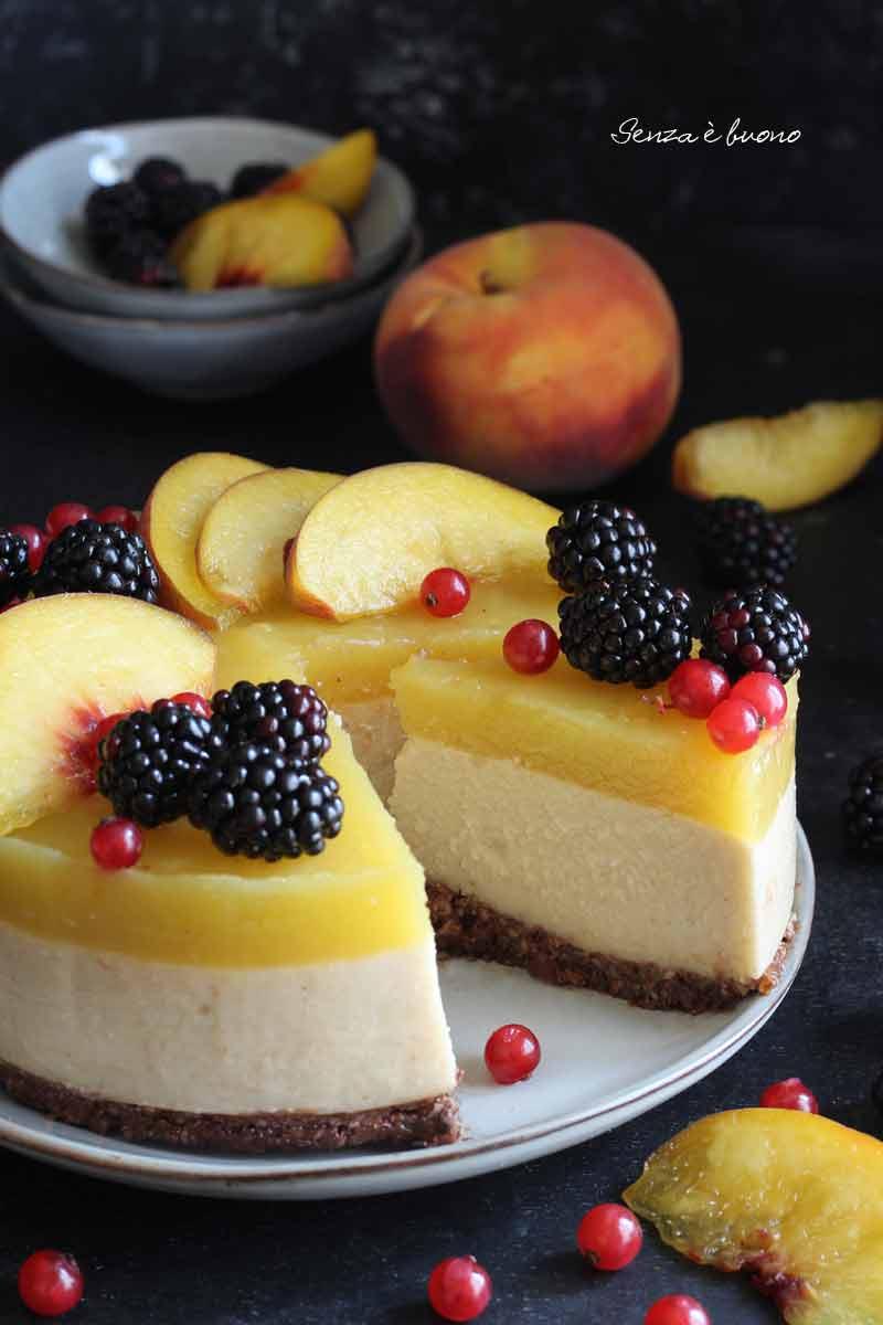 torta senza cottura ricetta senza glutine vegan