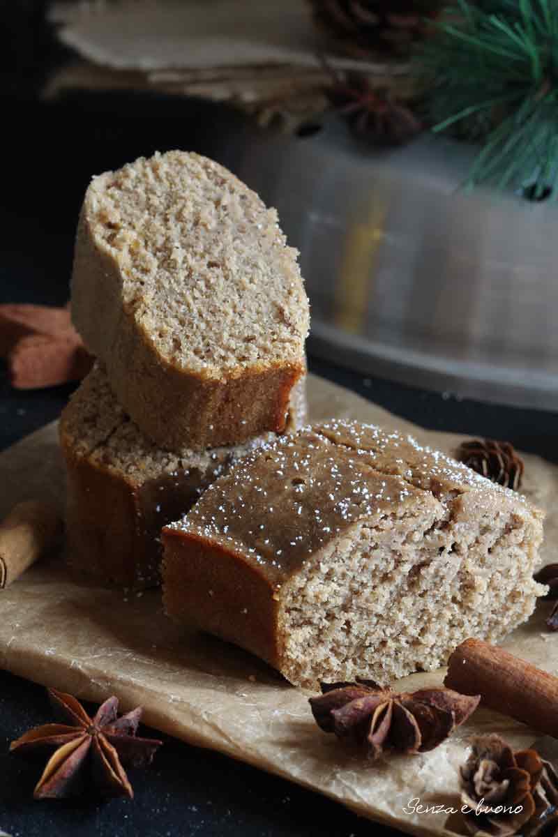 pan di spezie senza glutine