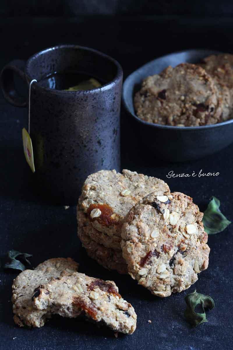 Biscotti rustici tipo grancereale senza glutine