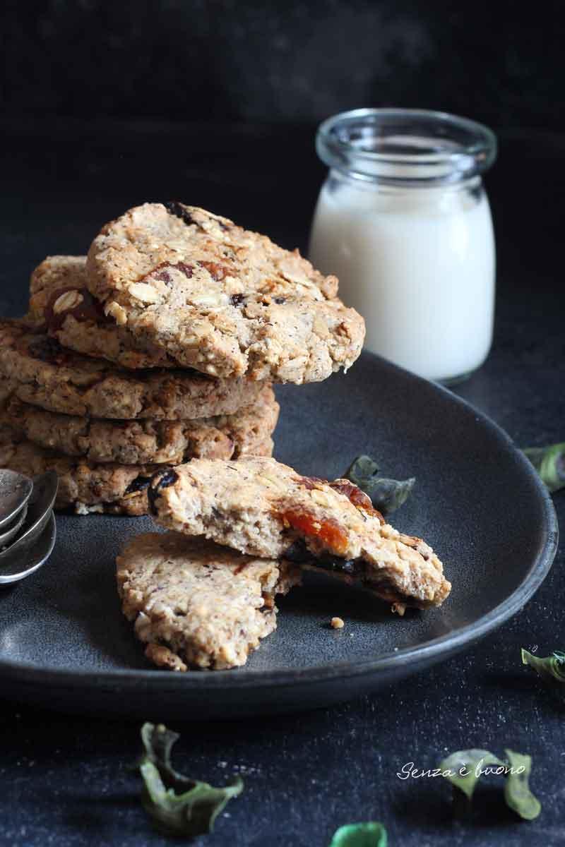 biscotti integrale senza glutine tipo grancereale
