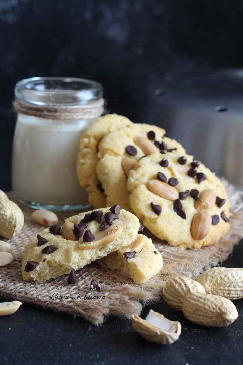 Ricetta biscotti tipo cookies facili da preparare