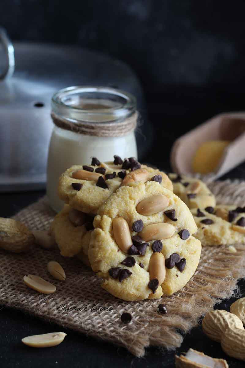 ricetta cookies senza glutine senza burro