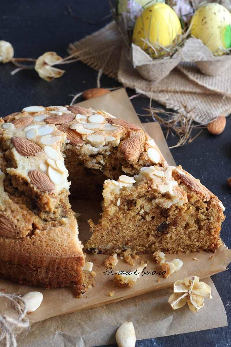 dolce di Pasqua, ricetta veloce:torta di Colomba senza glutine senza latticini