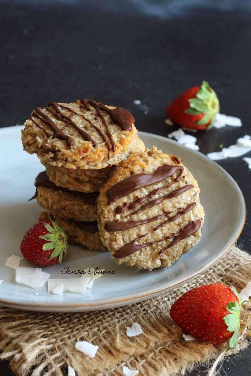 ricetta biscotti facili e veloci da preparare senza zuccheri aggiunti