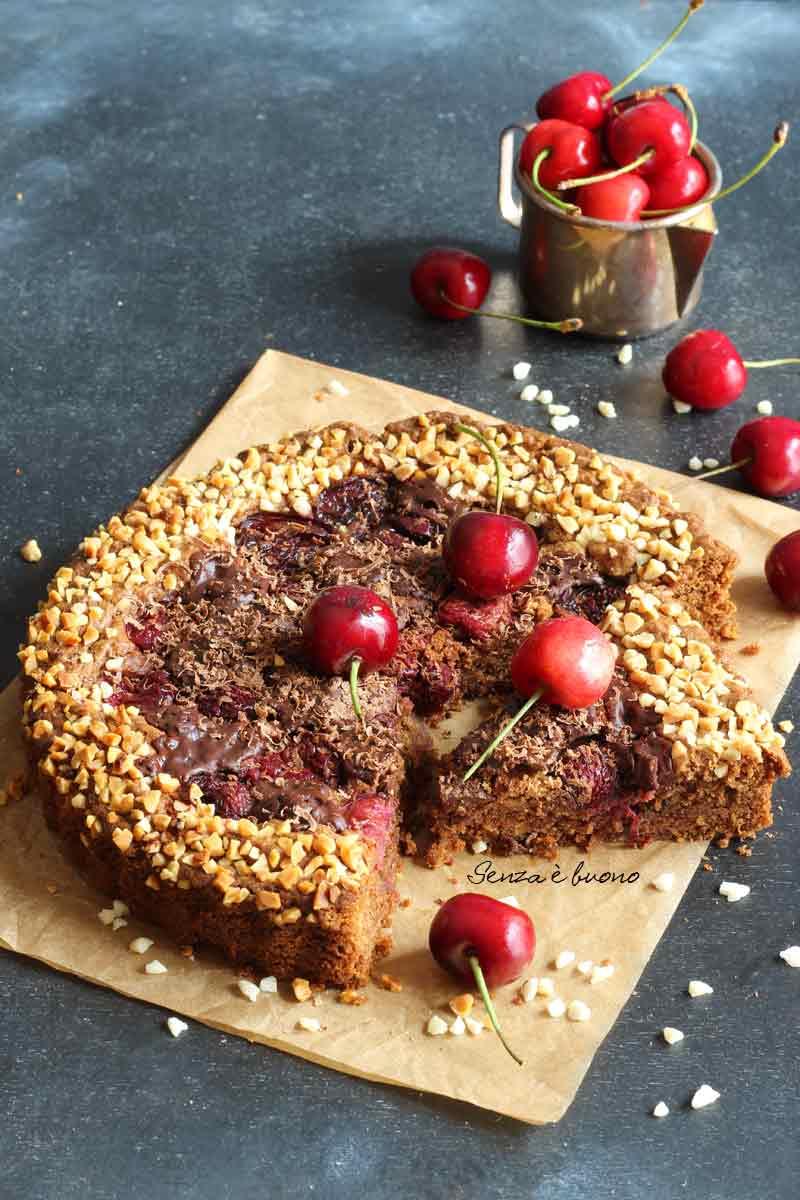 Riceta crostata morbida al cioccolato senza glutine
