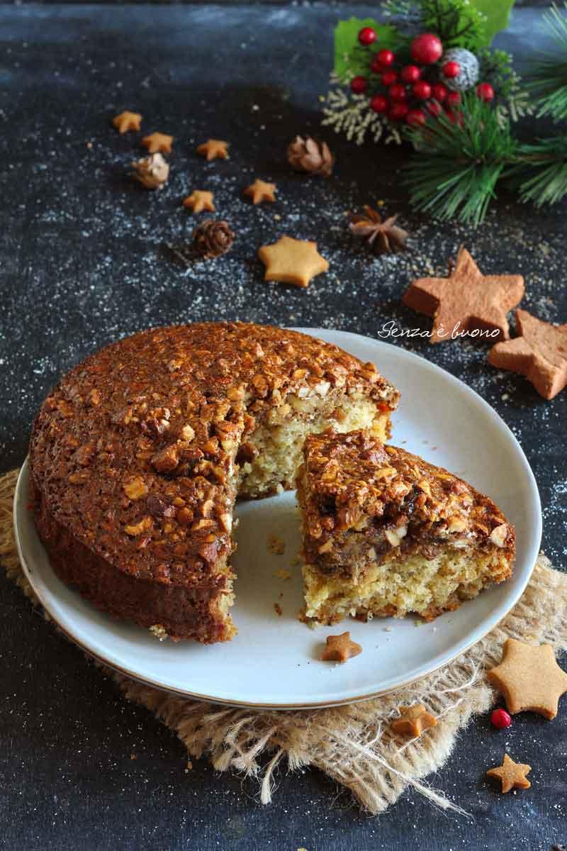 torta senza glutine di Natale: la ricetta facile