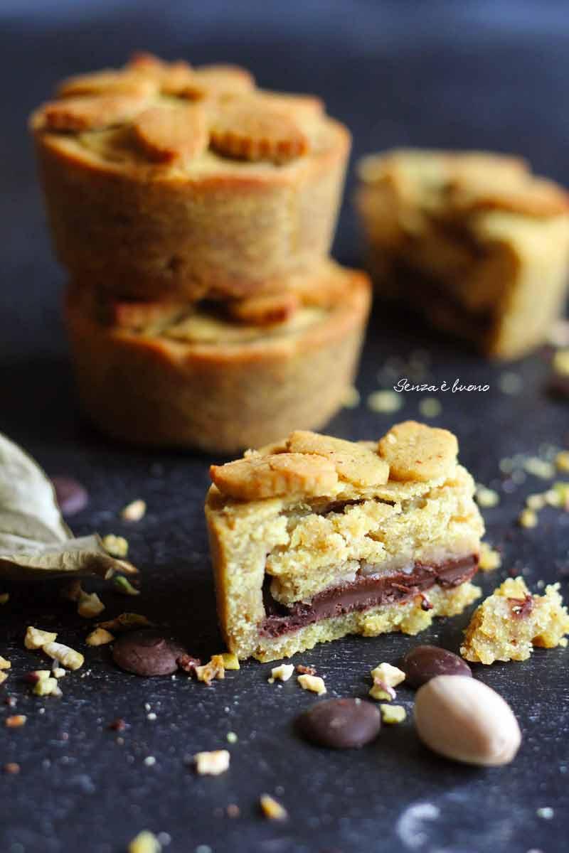crostatine mele e cioccolato ricetta vegan senza glutine