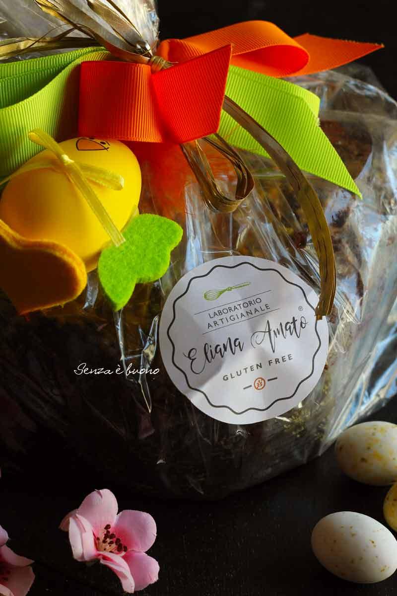 colomba artigianale senza glutine Eliana Amato glutenfree