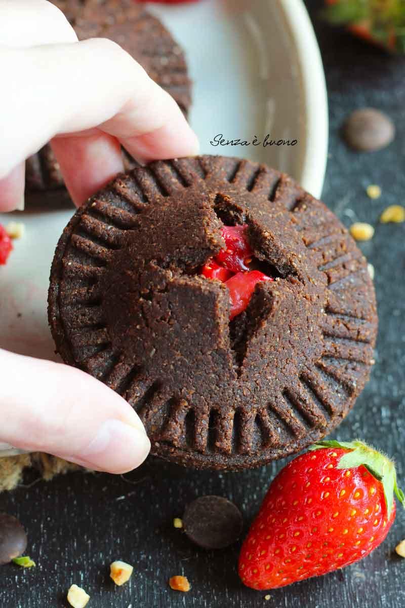 biscotti alle fragole senza glutine: ricetta per celiaci