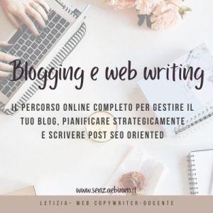 corso blogging web writing scrittura per il web