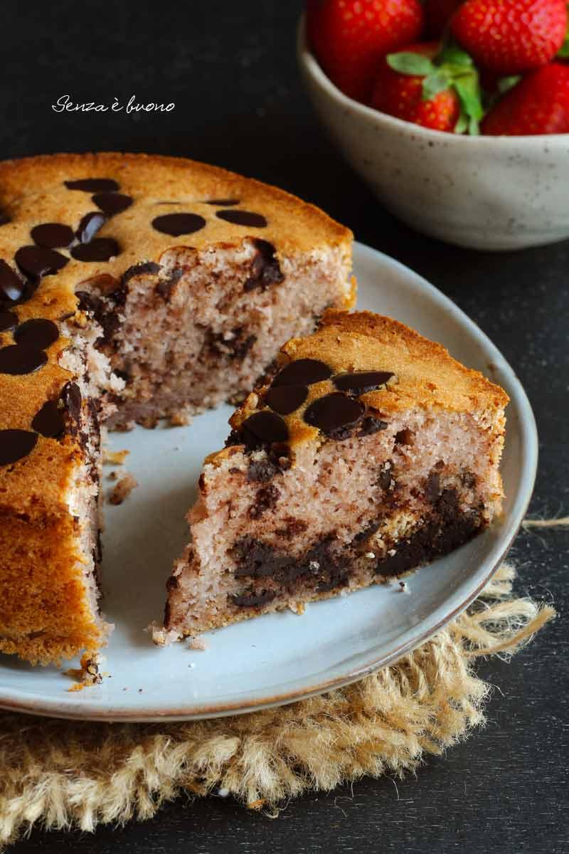 torta pan di fragole ricetta facile