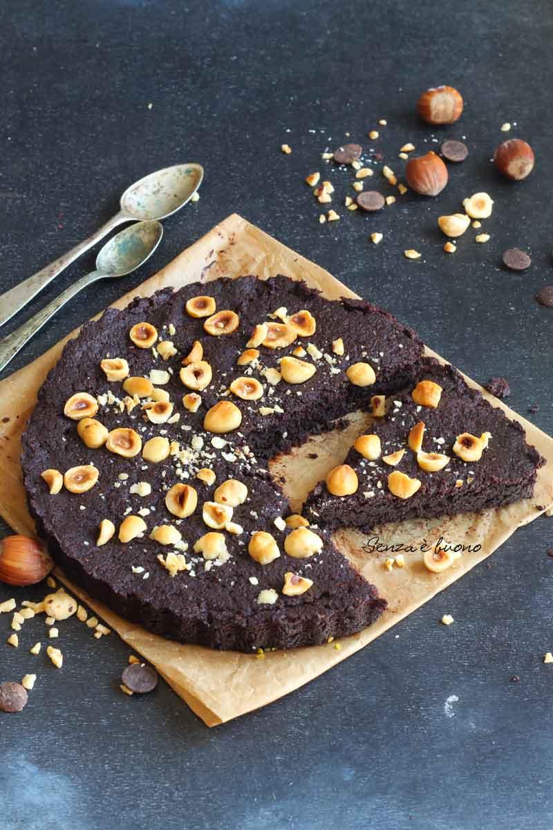 torta tenerina senza glutine senza burro