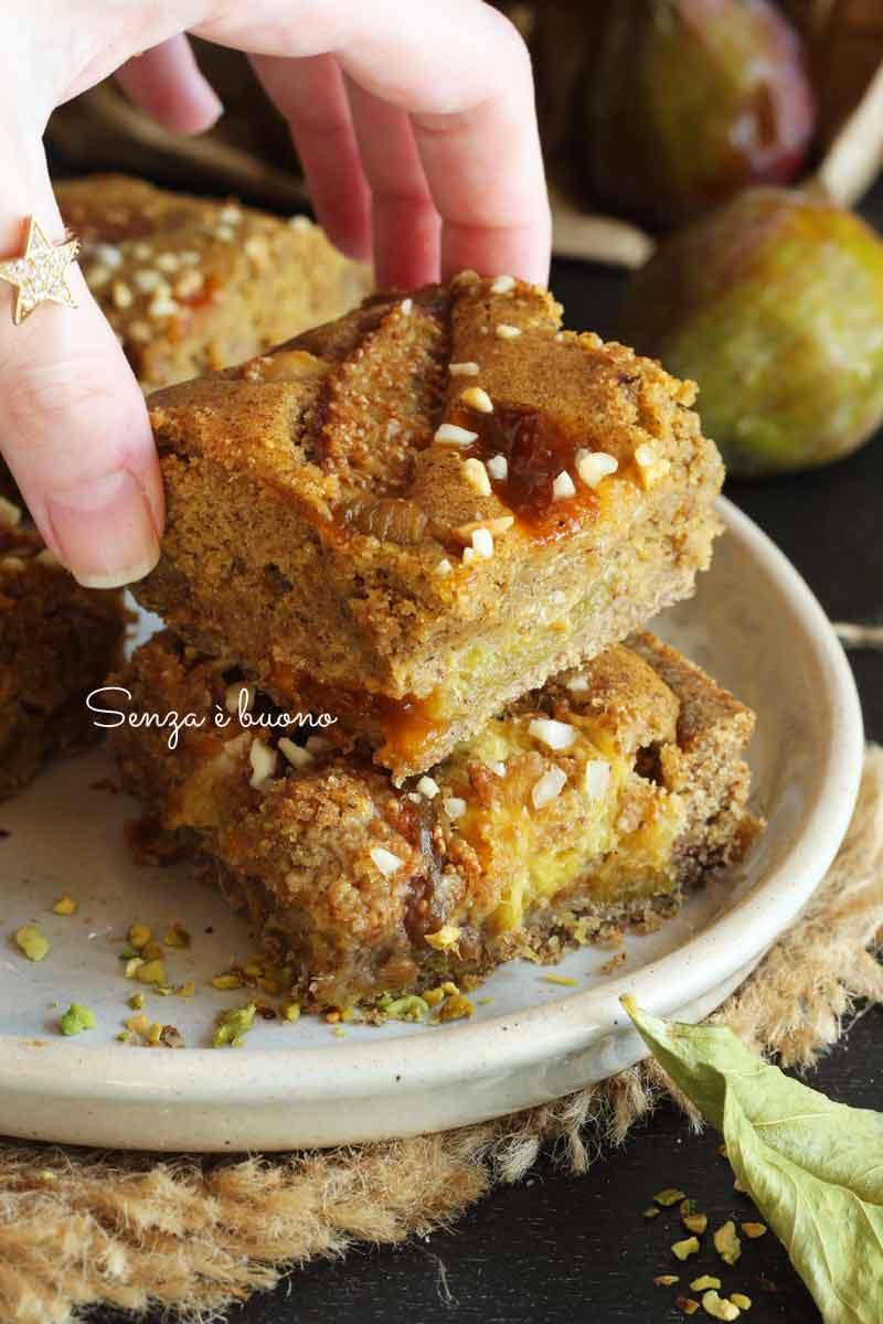 torta di fichi freschi senza glutine
