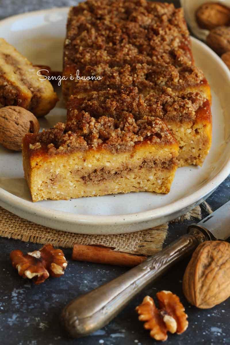 torta di zucca senza glutine