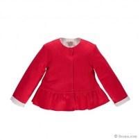 Giacchina in jersey accoppiato bicolore 47,90€