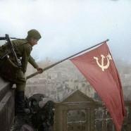 La bandiera della vittoria è una bandiera proletaria!