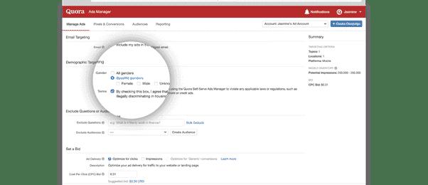 منصة Quora تضيف 3 خيارات استهداف جديدة للمعلنين