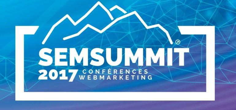 SEMSUMMIT 2017 Conférences Webmarketing Grenoble