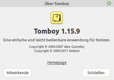 Tomboy Popup via Linux