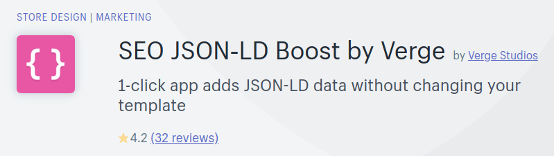 JSON-LD by Verge