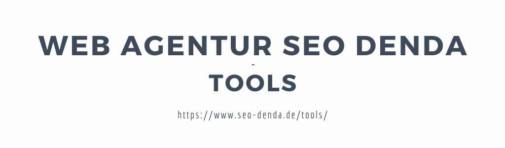 SEO DENDA Tools
