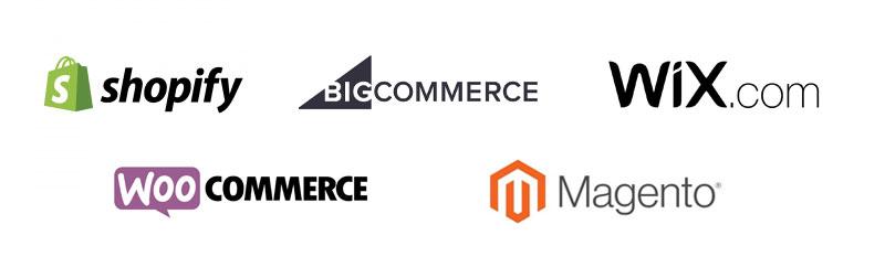 ecommerce platform logos