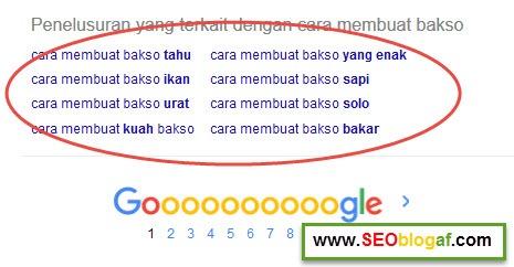 google suggest cara membuat pentol