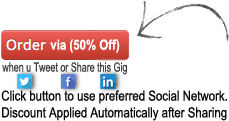 Get a Discount when you Tweet or Share