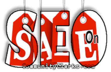 SEO on Sale Services!!!