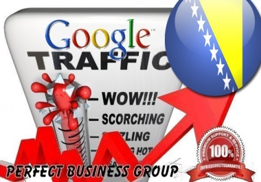 I send 1000 visitors via Google.ba Keyword to your website