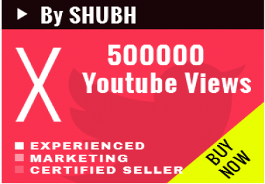 [Working] Add 500000 Youtube Views