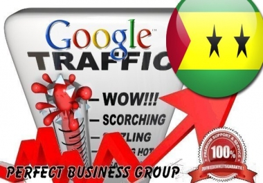 Organic traffic from Google.st (São Tomé and Príncipe) with your Keyword
