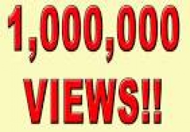 show you how to get 1   million views from google with  proof