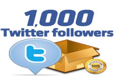 100% Real 1000+  Followers