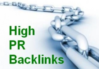 Manual backlink to 35 High PR3 to PR8 Sites, make an rss, Submit rss, ping all urls