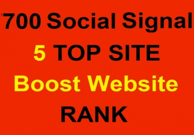 Start Instant 500 to 700 PR 9 Social Signal Maual Way