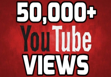Provide 50,000-51,000 Safe Non Drop  Unique Real Views Within 24 Hours